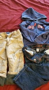 Baby gap boy toddler hoodie jacket and pants